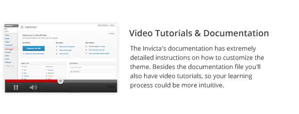 Video Tutorials % Documentation