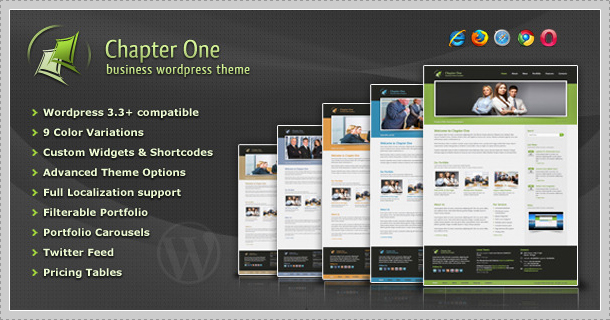 Chapter One - Business WordPress Theme