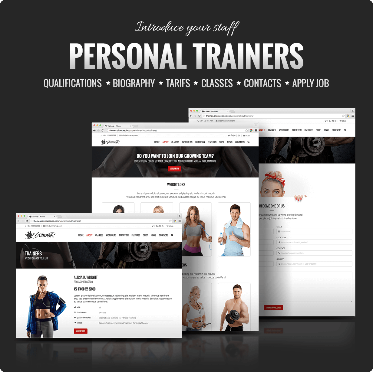 Winner Personal Trainers