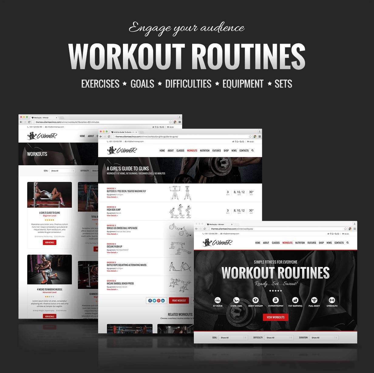 Winner Workouts